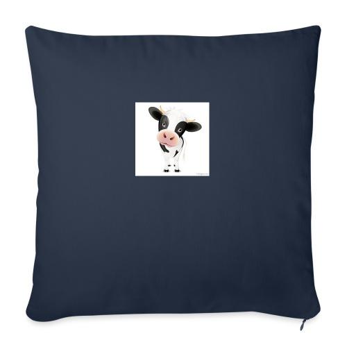 "cows - Throw Pillow Cover 18"" x 18"""