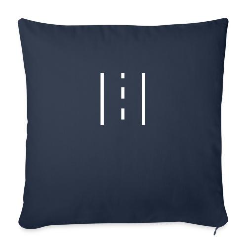 "Roadz v1.0 - Throw Pillow Cover 18"" x 18"""