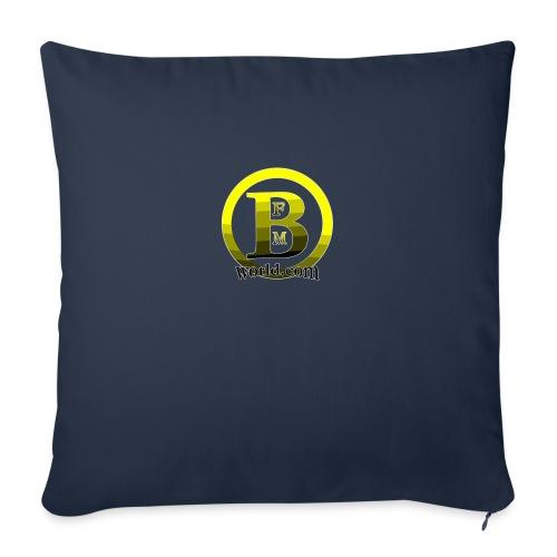 "BFMWORLD - Throw Pillow Cover 17.5"" x 17.5"""