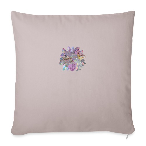 "CrystalMerch - Throw Pillow Cover 18"" x 18"""