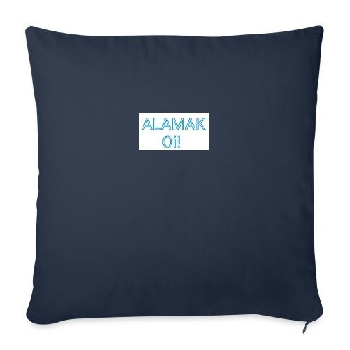 """ALAMAK Oi! - Throw Pillow Cover 17.5"""" x 17.5"""""""