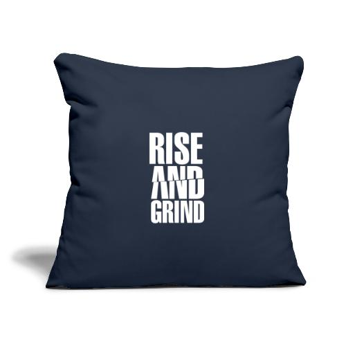 Rise & Grind - Throw Pillow Cover