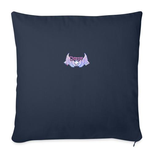 """Derpy Main Merch - Throw Pillow Cover 18"""" x 18"""""""
