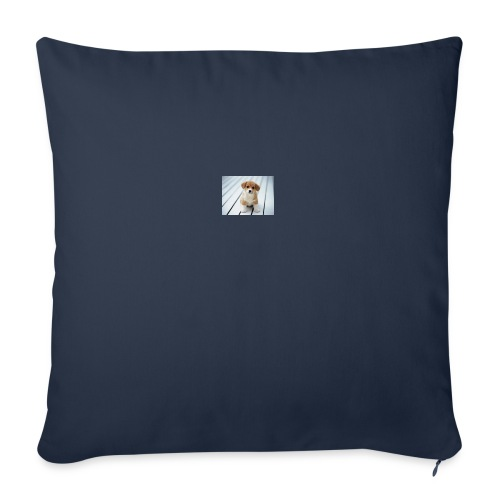 "dog - Throw Pillow Cover 18"" x 18"""