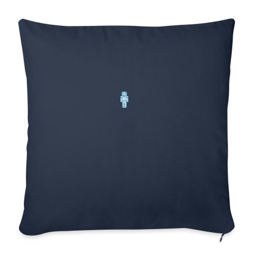 "Diamond Steve - Throw Pillow Cover 17.5"" x 17.5"""