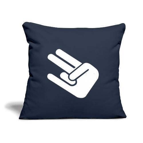 "The Shocker - Throw Pillow Cover 18"" x 18"""
