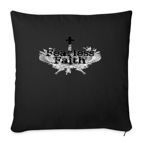 "imageedit 3 4461722366 gif - Throw Pillow Cover 17.5"" x 17.5"""