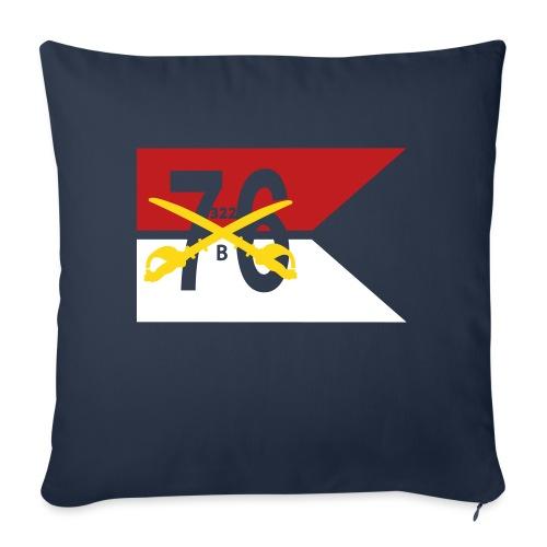 """Reagan Battle Flag - Throw Pillow Cover 18"""" x 18"""""""