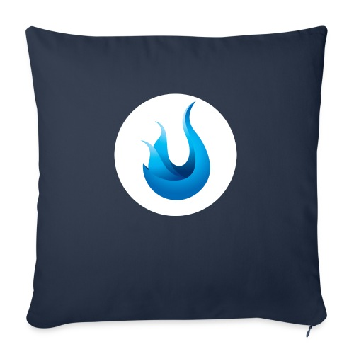 """flame front png - Throw Pillow Cover 18"""" x 18"""""""
