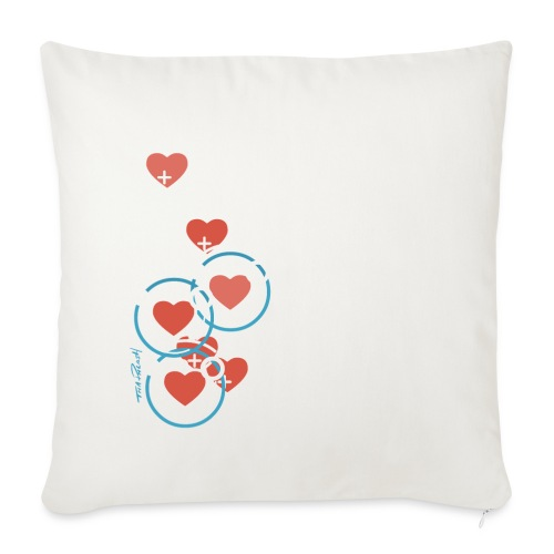 SuperHearts - Throw Pillow Cover