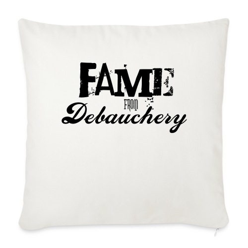 Fame from Debauchery - Throw Pillow Cover