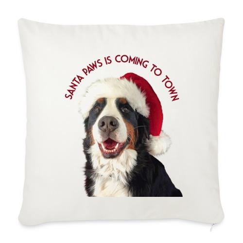 Santa Paws - Throw Pillow Cover
