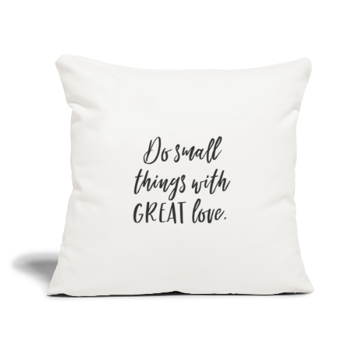 Small things - Throw Pillow Cover