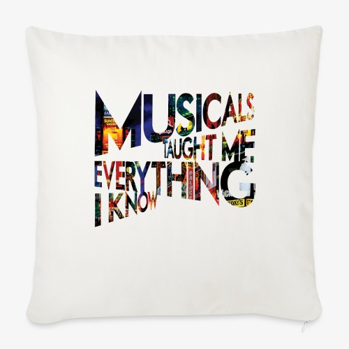 MTMEIK Broadway - Throw Pillow Cover