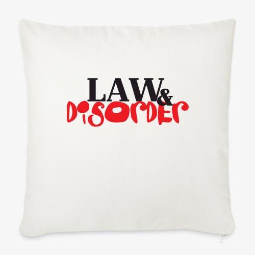 Law DISORDER Logo - Throw Pillow Cover