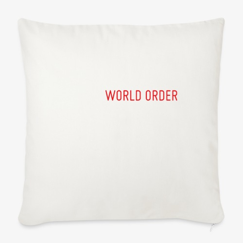 A New World Order Logo - Throw Pillow Cover