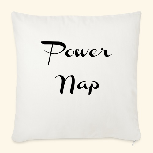 Power Nap - Gifts for Writers Authors Creatives - Throw Pillow Cover