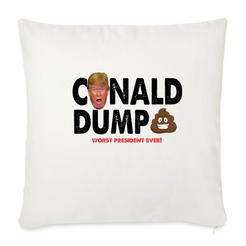 Conald Dump Worst President Ever - Throw Pillow Cover