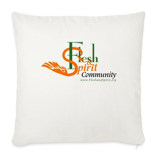 Flesh and Spirit Community T-Shirt - Throw Pillow Cover