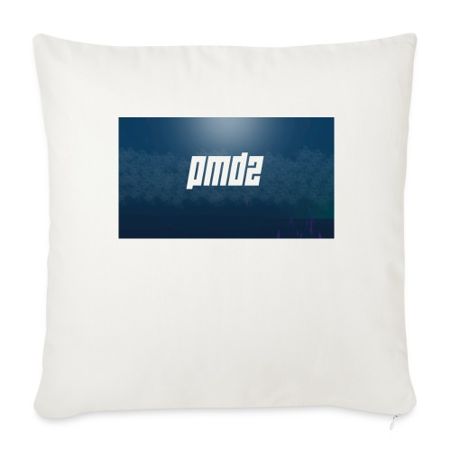 PMD2 Channel Banner Logo - Throw Pillow Cover