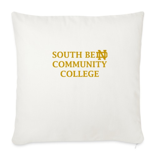 Notre Dame Community College - Throw Pillow Cover