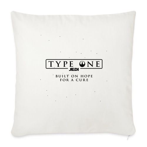 Star Wars Type One Jedi Diabetic Support - Throw Pillow Cover