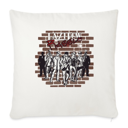 East Row Rabble - Throw Pillow Cover