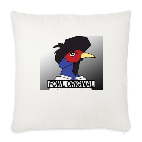 Fowl Original Logo - Throw Pillow Cover