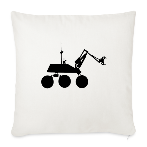 USST Rover Black - Throw Pillow Cover