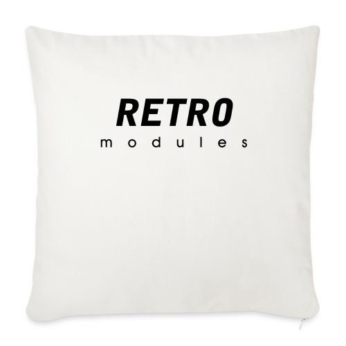Retro Modules - sans frame - Throw Pillow Cover