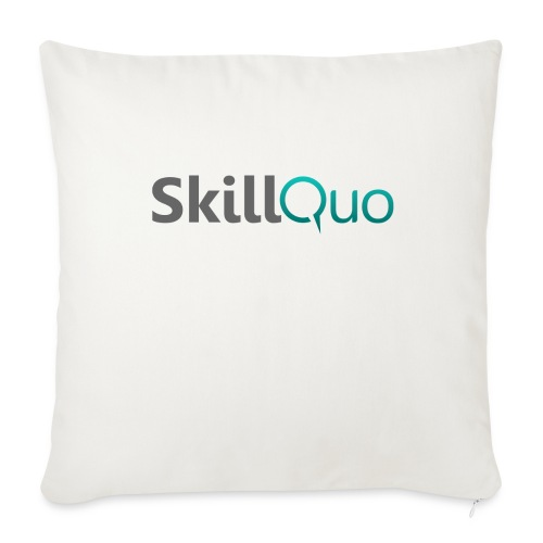 SkillQuo New - Throw Pillow Cover