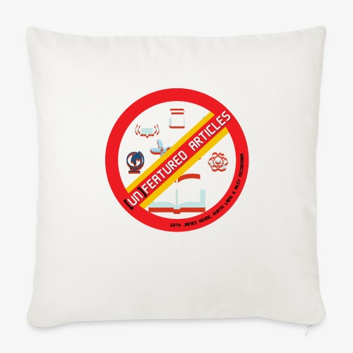 unFeatured Articles Logo - Throw Pillow Cover