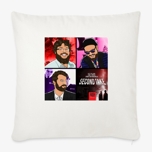 Second Take Cover - Throw Pillow Cover