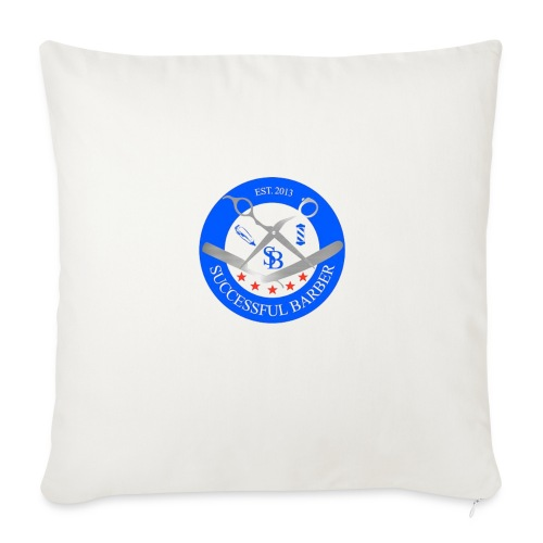 Successful Barber Seal - Throw Pillow Cover