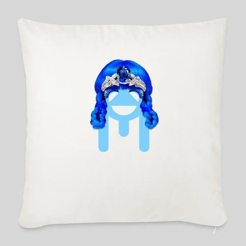 ALIENS WITH WIGS - #TeamMu - Throw Pillow Cover