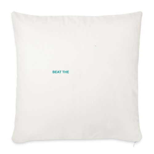 Beat The StatusQuo - Throw Pillow Cover