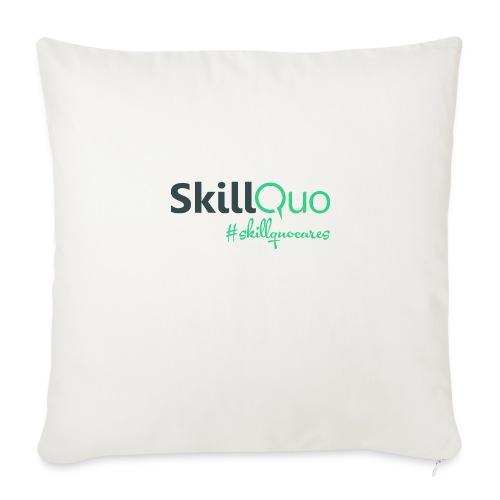 #Skillquocares - Throw Pillow Cover