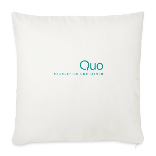 Consulting Unchained - EcoFriendly - Throw Pillow Cover