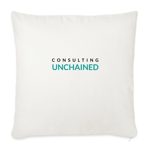 Consulting Unchained - Throw Pillow Cover
