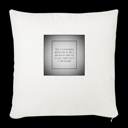 You can make it through - Throw Pillow Cover