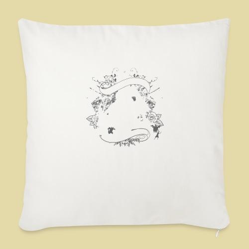hoh_tshirt_skullhouse - Throw Pillow Cover