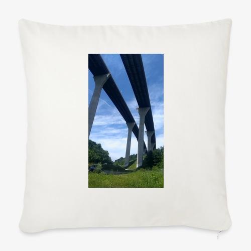 Bridge & Sky - Throw Pillow Cover