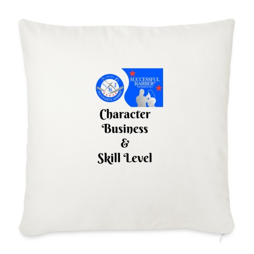Character, Business & Skill Level - Throw Pillow Cover