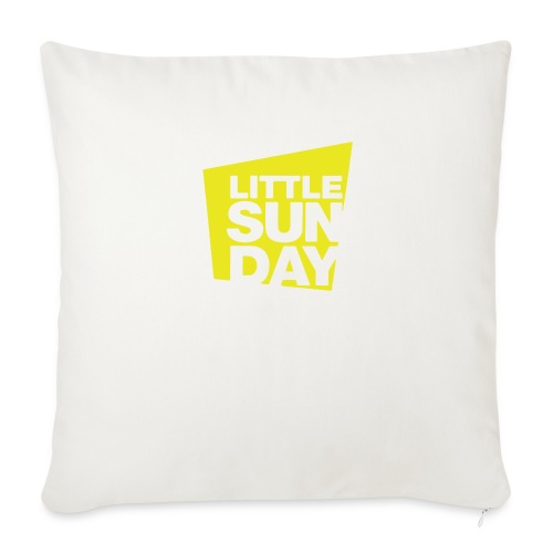 littleSUNDAY Official Logo - Throw Pillow Cover