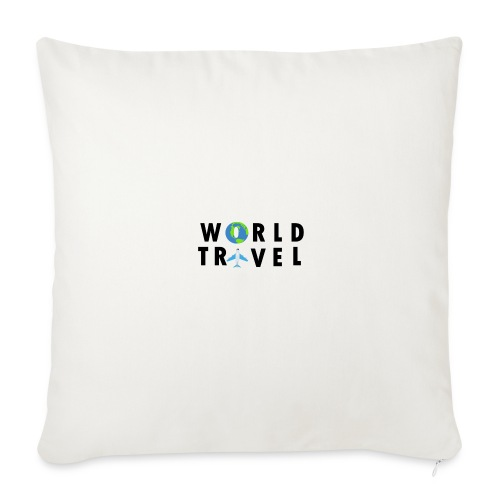 World Travel Design - Throw Pillow Cover