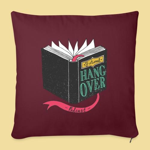 "Fictional Hangover - Throw Pillow Cover 17.5"" x 17.5"""