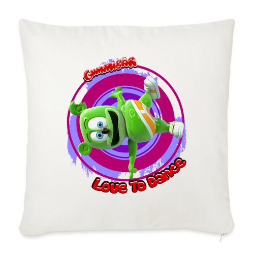 "Love To Dance - Throw Pillow Cover 17.5"" x 17.5"""