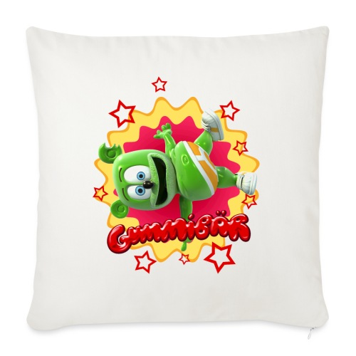 "Gummibär Starburst - Throw Pillow Cover 18"" x 18"""