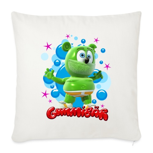 "Gummibär Bubbles - Throw Pillow Cover 17.5"" x 17.5"""