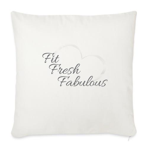"FFF Tank - Throw Pillow Cover 18"" x 18"""